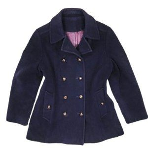 ❣️2/$40 Double Breasted Wool Coat, Vintage Sears